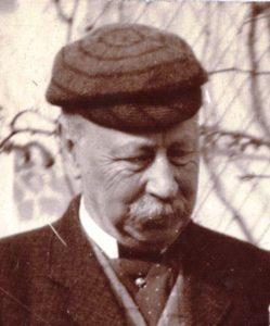 Henry Evans in 1896