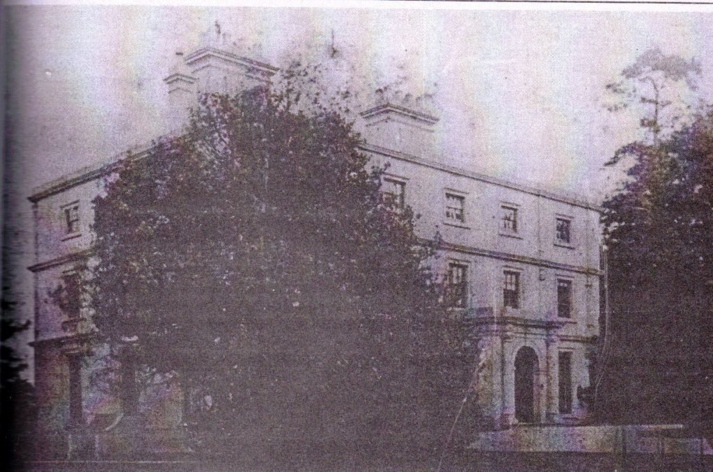 Pendeford Hall taken in about 1930