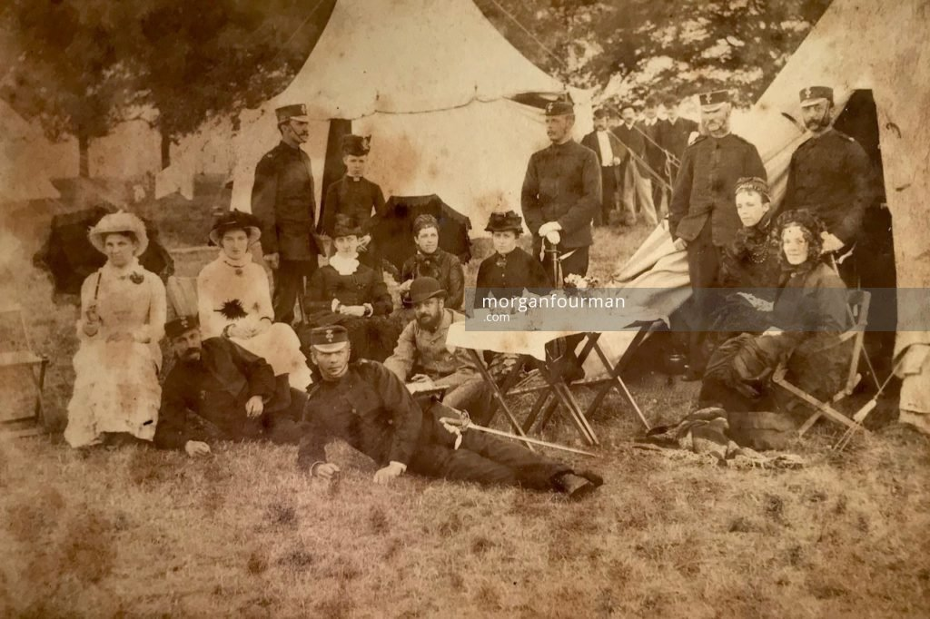 4thStaffordshireRifleVolunteer Corps, c. 1880