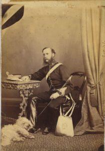 General Charles Richard Ogden Evans in 1888