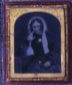 Mary Shaw Hellier in about 1846