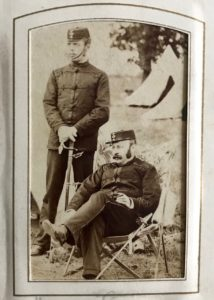 Volunteer Henry Evans, 4thStaffordshireRifleVolunteer Corps, c. 1880