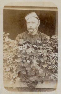 Lieutenant T. B. Shaw-Hellier, 4th Dragoon Guards, c. 1863. Photo by G.A. Nichols, Rutland villas, Tinwell Road, Stamford