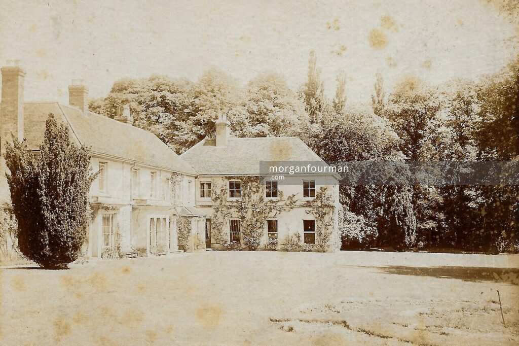 The Birches, Codsall, c. 1890. Molly's note on the back: 'The home of my Grandfather where we stayed very often as children up till 1898'