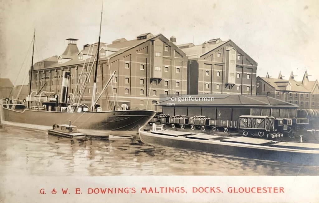 G. & W.E. Downing's Maltings, Docks, Gloucester, c. 1901