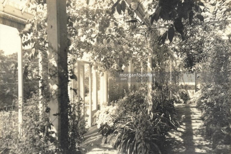 A view of the Conservatory, Tan-Yr-Allt, Llandudno, c. 1930