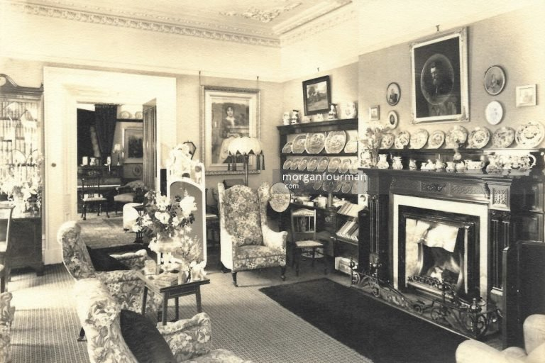 A view of the Lounge, Tan-Yr-Allt, Llandudno, c. 1930