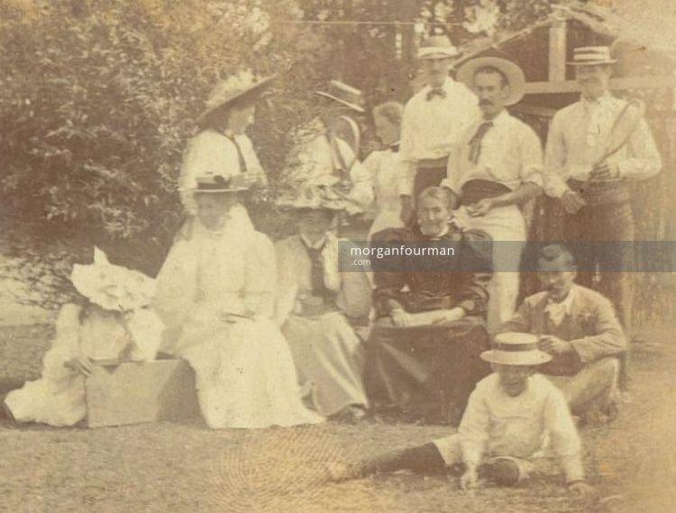 New Year's gathering at Gisborne 1 January 1897