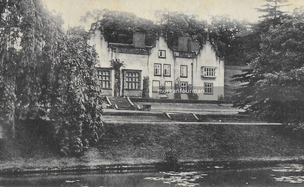 The Wodehouse, Wombourne in early 1890s. From Molly Evans' Postcard Collection