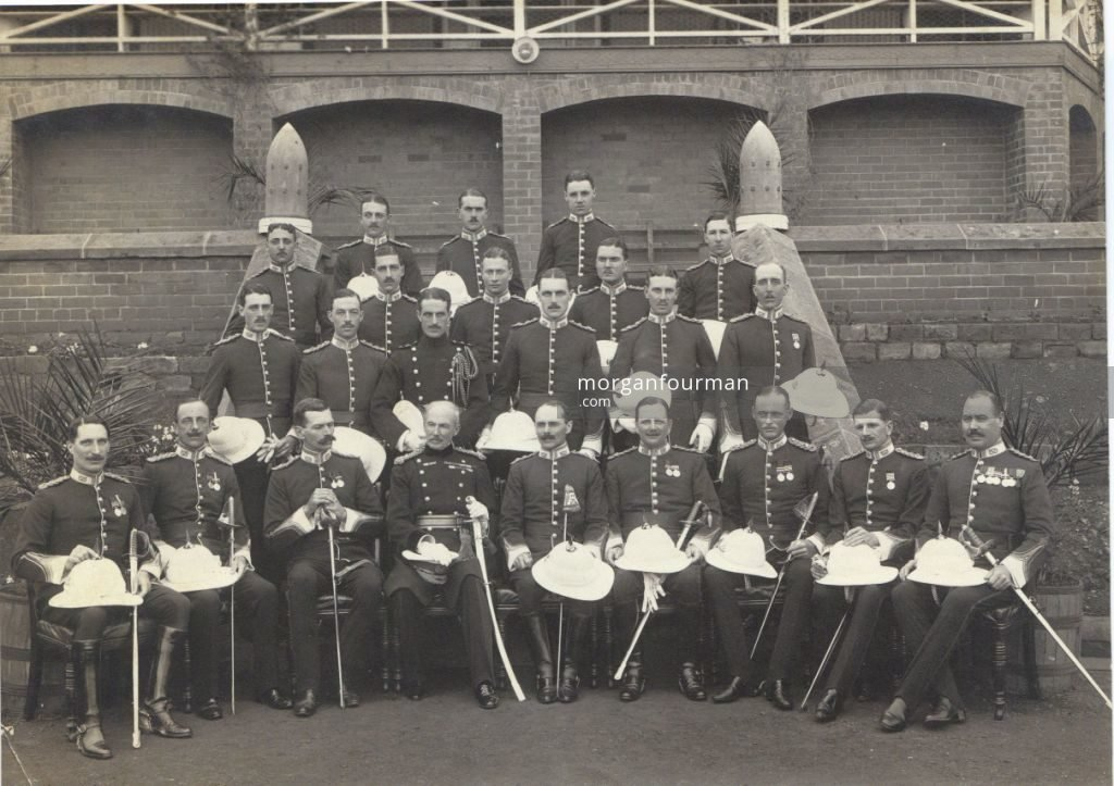 Officers of Ist Batallion South Staffordshires in PieterMaritzburg 1913/14
