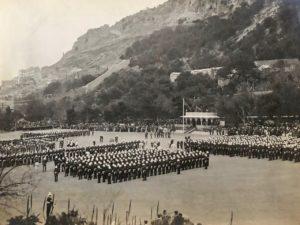 Consecration Service, Presentation of Colours, Alameda Parade, Gibraltar, 1912