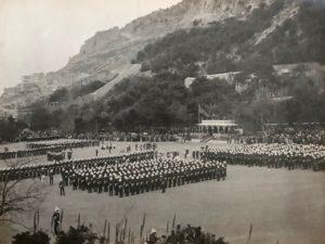 King's Speech, Presentation of Colours, Alameda Parade, Gibraltar, 1912