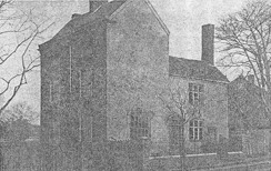 The Spout House in Smethwick - photographed before its demolition in 1937