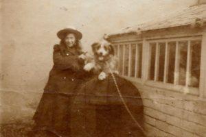 Molly Evans, c. 1902