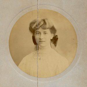 Molly Evans, c. 1906
