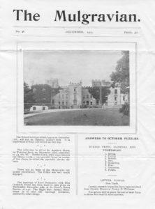 The Mulgravian, No. 46, Dec 1903