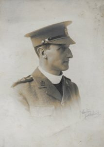 The Reverend Thomas Henry Foorde Russell Buckworth Royse, Temporary Chaplain to the Forces, c. 1914. Photo by J. Weston, Folkestone