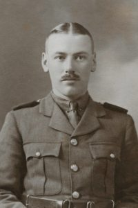 Noel Downing, Welsh Guards, 1916