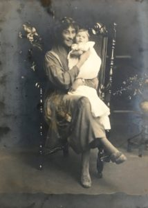 Molly and Pamela Downing, c. 1920