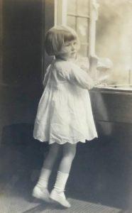 Pamela Downing, c. 1924
