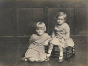 Pamela and Hazel Downing, c. 1924