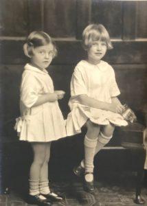 Pamela and Hazel Downing, c. 1925
