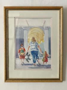 Pamela Morgan, Half Term, watercolour