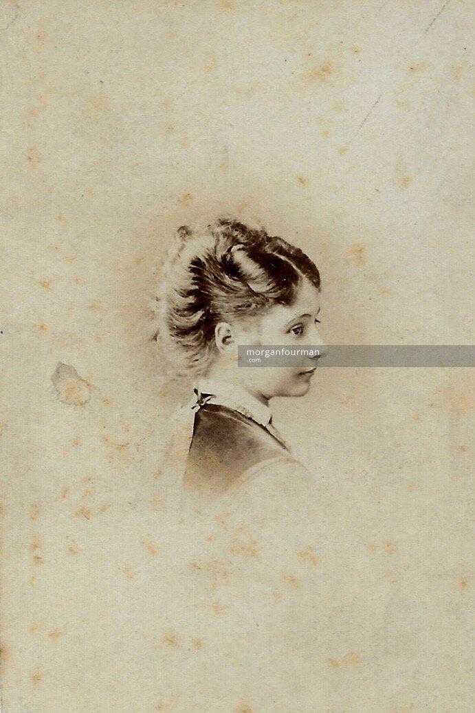 Nettie Marten aged 14, c. 1871