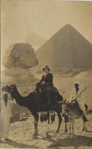 Possibly Richard Hellier Agard Evans in Egypt 1916