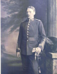 John Fritz Kivas Dobbs - 2nd Battalion Royal Dublin Fusiliers - Godfather to Hazel Downing