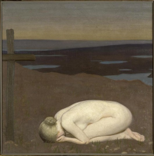 Youth Mourning by Sir George Claussen courtesy Imperial War Museum