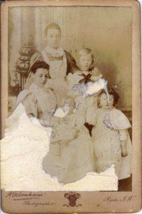 Gartside-TIpping family in 1896