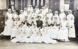 Nurses, 1st Western General Hospital, Birkenhead, 1917