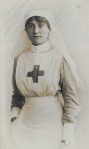 Molly Evans, 1st Western General Hospital, Birkenhead, 1917