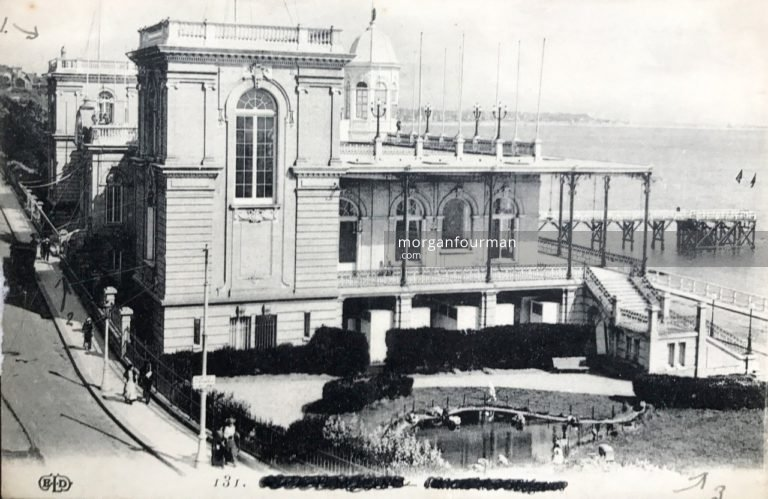 Palais with a view of the harbour, No 2 General Hospital, Le Havre