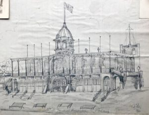 Palais by Molly Evans, No 2 General Hospital, Le Havre, 1916