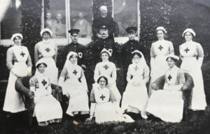 Medical staff, Studley Court Hospital, Stourbridge, 1914