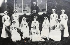 Medical staff, Studley Court Hospital, Stourbridge, 1914