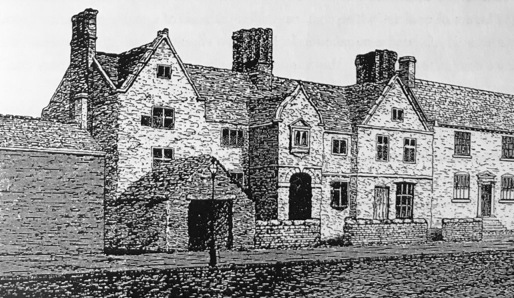 Gilbert Jellians' House in Hampton Lane, Dudley