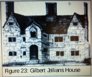 Gilbert Jellians' House in Hampton Lane, Dudley, built c1660 demolished c1850