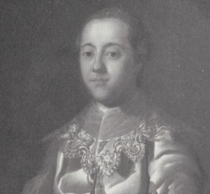 Sir Samuel Hellier painted by James Shaw