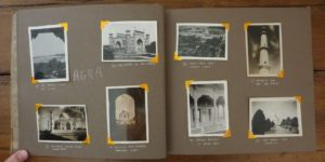 Donald Morgan's Photo Album, pp. 12-13, India, 1946. Agra