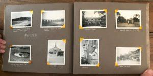 Donald Morgan's Photo Album, pp. 30-31, India, 1946. Poona