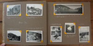 Donald Morgan's Photo Album, pp. 4-5, India, 1946. Nainital