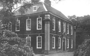 Old Fallings Hall, rebuilt in the 1780's
