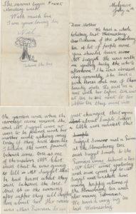 Noel's letter to his mother, Mulgrave, 14 Jul 1901