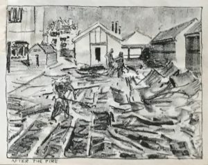 After the fire by E. Procter