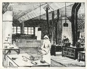 The kitchen by E. Procter