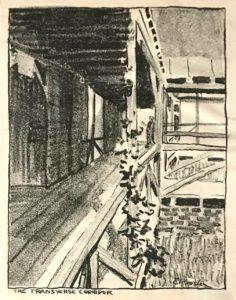 The transverse corridor by E. Procter