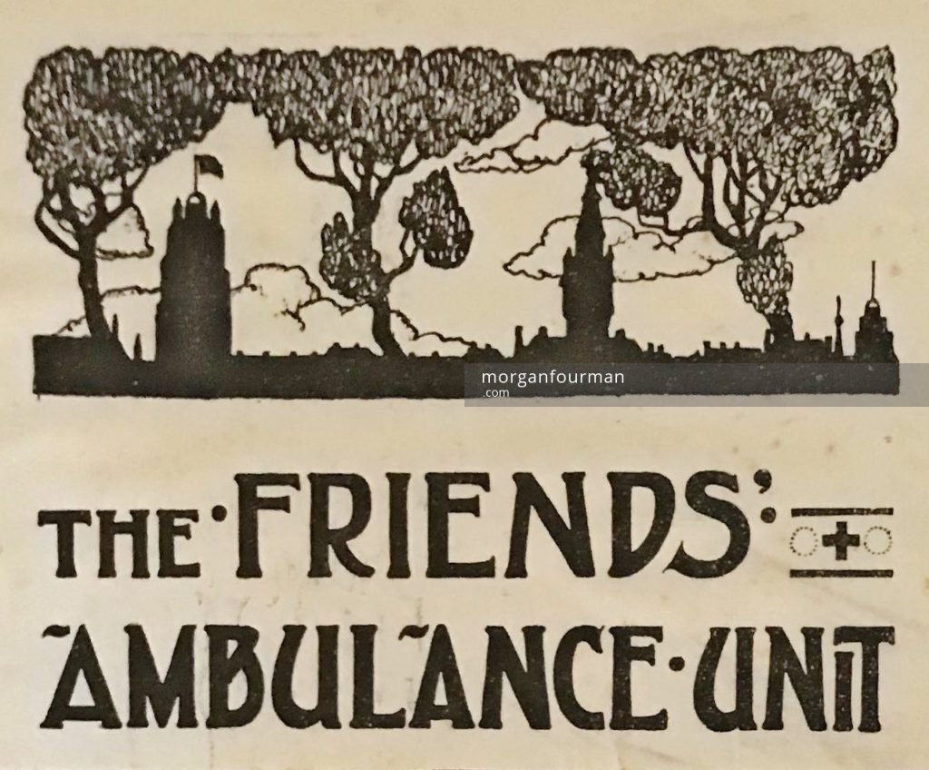 The Friends' Ambulance Unit logotype